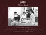 2018 Calendar: Animals in the Archives: Images from the C. L. Sonnichsen Special Collections Department