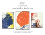 2021 Calendar: Art in the Archives by Special Collections Staff