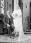 Manuel Silva and unidentified bride