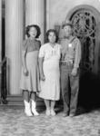 Concepcion, Juanita, and Miguel Flores