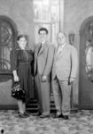 Mr. and Mrs. Robert Samaniego, Ramón Novarro