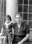 Belinda Barajas (D'Agostino) and her grandmother, Mariana Lucero Madrid