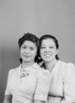 Paula Heredia and her mother Josephina Guerra Heredia