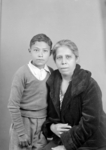Unidentified Woman and Child