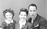 Pauline 'Wanda' Tompkins, Robert Tompkins, Josephine 'Josie' Tompkins