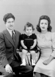 Unidentified Man, Child, Woman