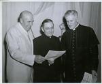 Bishop Sidney M. Metzger (center)