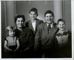 Family of Albert Armendariz, Sr.: Leticia, Mary Lou (Regalado), Albert Jr., Albert Sr., Edward