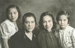 Carlota Torres Salazar, Ignacia Salazar de Torres, Josefina Torres, and Maria Socorro Torres