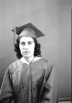 Unidentified Graduate Woman