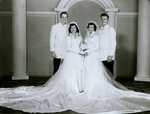 Gene Oxley, Luisa Vasquez Oxley, Lupe Vasquez Duke, Marcus Duke (left to right)