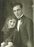 Unidentified Groom and Bride