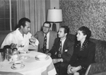 Ricardo Montalban and unidentified persons