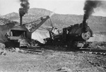 Santa Rita/Hurley, New Mexico, Mines, Train