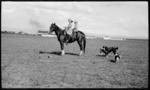 Madera, Chihuahua, Fitzgerald children on horseback