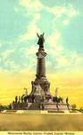 Ciudad Juárez, Mexico. Monument Benito Juárez.