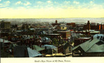 El Paso, Texas. Bird's eye view.