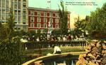 El Paso, Texas. San Jacinto Plaza.
