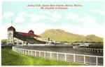 El Paso, Texas. Juárez race track.