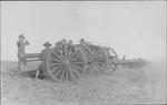 3 inch artillery gun