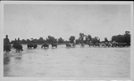 U.S. Army crossing river