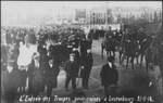 U.S. Troops arriving in Luxembourg 1918