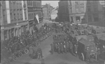 Luxembourg 1919. Street scene.