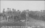 General Pershing inspecting troops