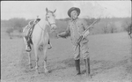 Buffalo Bill with horse