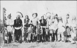 Buffalo Bill Cody with Indians