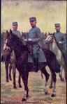 Postcard of Soldiers in Luxembourg