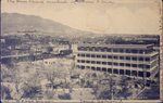 El Paso, Texas San Jacinto Plaza in front of Ordorff Hotel