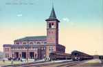 El Paso, Texas. Union Station.