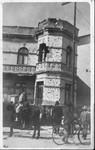 San Juan Del Rio, Guanajuato building in gunfight.