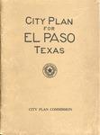 City Plan for El Paso Texas 1925