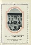 Flowsheet 1929
